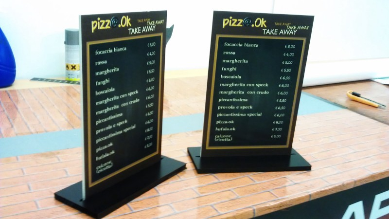 Pizza Ok - Gallery stampa digitale